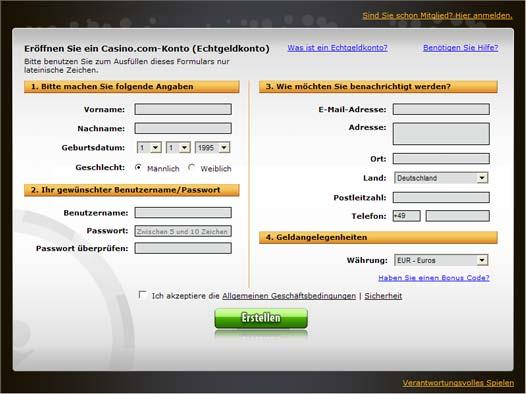 internet casino online online spiele anmelden