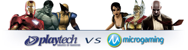 Playtech vs Microgaming