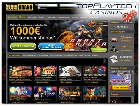Eurogrand Casino Erfahrung