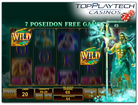 Playtech Age of the Gods online Slot Freispiele