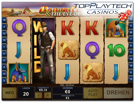 Playtech Daring Dave & the Eye of Ra online Slot