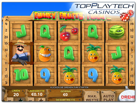 Playtech Funky Fruits Farm online Slot