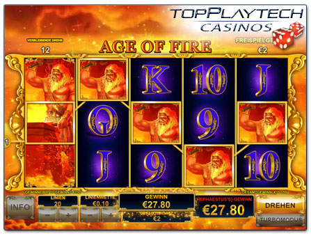 Playtech Furious Four online Slot Freispiele