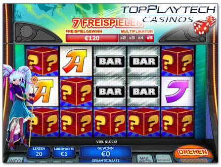 Playtech Magical Stacks online Slot Freispiele