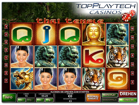 Playtech Slot Thai Temple