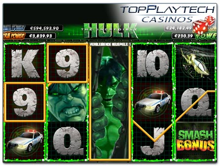 The Incredible Hulk online spielen