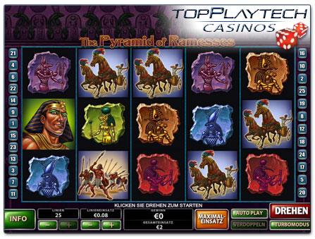 Playtech The Pyramid of Ramesses online Slot