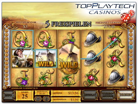 Playtech The Riches of Don Quixote online Slot
