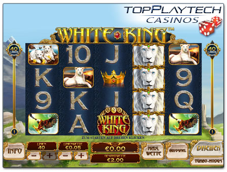Playtech Slot White King