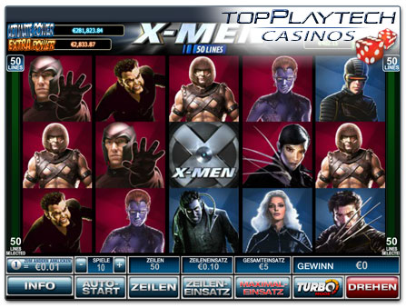 Playtech X-Men online Slot